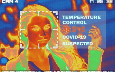 Termowizyjne rejestrowanie temperatury ciała pracowników